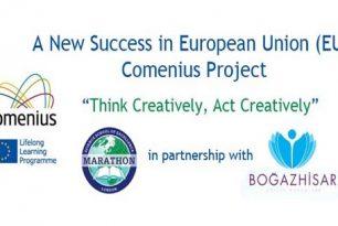 Marathon School in European Union Comenius Project